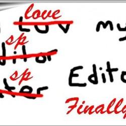 Everyone needs and editor