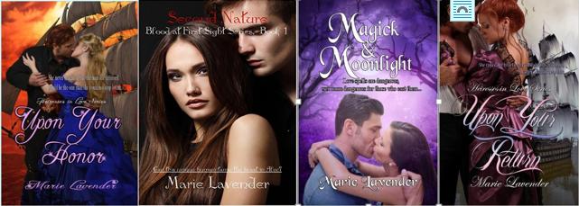 Marie Lavender's Books