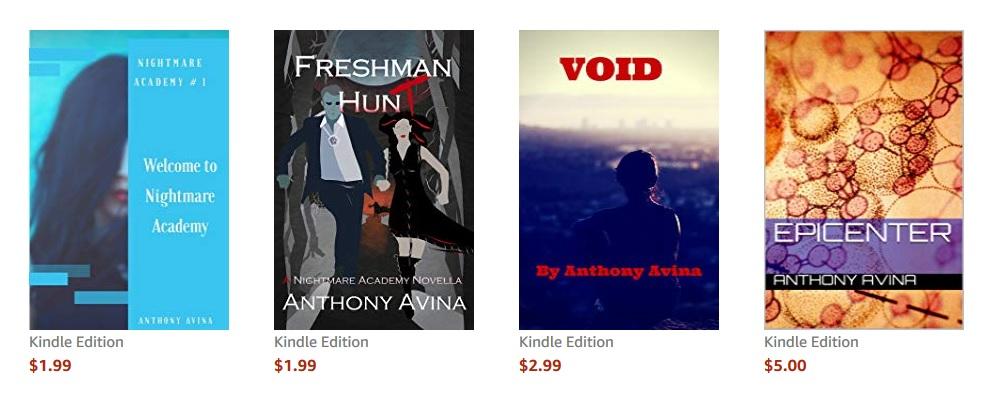 Avina's Books